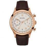Reloj Bulova 97b148 Para Hombre - Marrón
