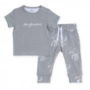 Jollein Broekje en T-shirt Setje Octopus Grey 50/56