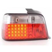 FK-Automotive fanale posteriore LED per BMW serie 3 berlina (tipo E36) anno di costr. 91-98, rosso/bianco