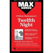 Twelfth Night (Maxnotes Literature Guides), Paperback/Frederic Kolman