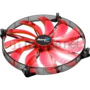Ventilator AEROCOOL SILENT MASTER RED LED Ventilator 200x200x20mm