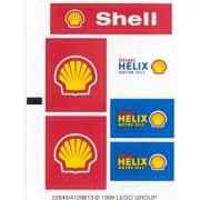 Lego Original Sticker Sheet for Town/City Set #1253 Shell Car Transporter