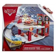 Set De Jucarii Cars Piston Cup Racing Garage Playset