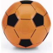 Geen Opblaasbare oranje voetbal strandbal