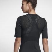 Haut de trainingà manches courtes Nike Pro HyperCool pour Femme - Noir