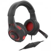 Слушалки с микрофон Genesis Gaming Headset Radon 200, surround sound Virtual 7.1, Black-Red USB, NSG-1412