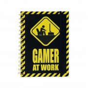 Gameloot Anteckningsbok - Gamer at Work, A5