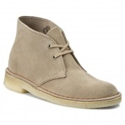 Обувки CLARKS - Desert Boot 261069414 Sand