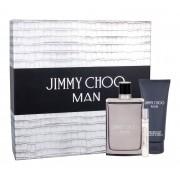Jimmy Choo Jimmy Choo Man 100Ml Edt 100 Ml + Edt 7,5 Ml + Aftershave Balm 100 Ml Per Uomo (Eau De Toilette)