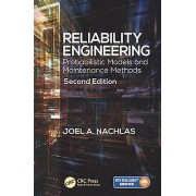Fiabilité Engineering par Nachlas & Joel A. Virginia Polytechnic Institute et State University & Department of Industrial & Systems Engineering & B...