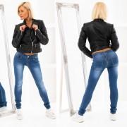 Jeans se zipovou aplikací (27) - V&V