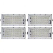 For parking New High Power led 50watt LED watt Ultra Thin Slim IP66 IP6667/50 LED Flood Outdoor Light Cool White Waterproof-Pack Of 4