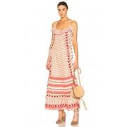 Dodo Bar Or Peeri Dress in Neutral,Red,Stripes. - size M (also in L,S)
