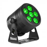 Beamz Professional BBP66 Uplight PAR foco LED 6 x 4 en 1 LEDs RVAB Negro (Sky-150.594)