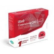 Suplemento Alimentar de Coenzima Q10 Litee