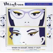 Mintree Stick-On Wing Eyeliners Classic Black Cat Gold