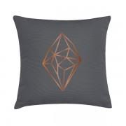 Eco Design Kussen Copper Diamante 45x45