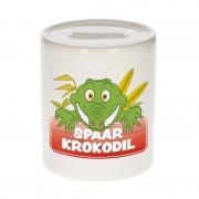 Bellatio Decorations Spaarpot van de spaar krokodil Kroky 9 cm