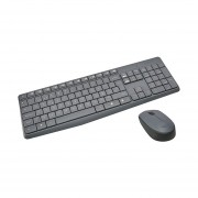 Kit Teclado Y Mouse Logitech MK235 Inalambrico USB (920-007901)-Negro