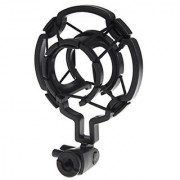Magideal Universal Microphone Shock Mount Cradle Holder Clip Stand Mic