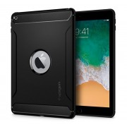 "Spigen SGP Rugged Armor Apple iPad 9,7"" (2017/2018) Black hátlap tok"