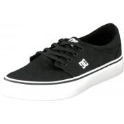 DC Shoes Trase Tx Shoe Black/White, Skor, Lågskor, Tygskor, Svart, Herr, 43