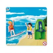 Playmobil 5925 Skier Jet & Surfer with Board
