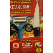 Kerámia kés + hámozó