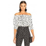 RIXO LONDON Kerry Top in White. - size XS (also in L,M,S)