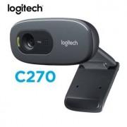 Logitech Original Logitech C270/C270i HD Webcam 720p HD Built-in Microphone Web Camera USB2.0 Free drive Webcam for PC Web Chat Camera