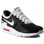Обувки NIKE - Air Max Zero Essential 876070 010 Black/White/White/Solar Red