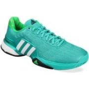 ADIDAS BARRICADE 2016 BOOST Running Shoes For Men(Green)