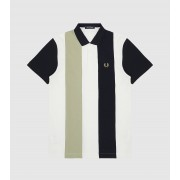 Fred Perry Bold Stripe Polo, multifärgad