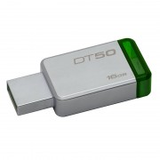 Memorie USB Kingston DataTraveler 50 16GB USB 3.1 Green