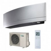 Aparat aer conditionat Daikin Gama Emura FTXJ50MS+RXJ50M 18000BTU Inverter A++ WiFi Argintiu
