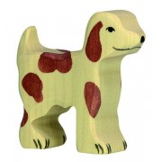 Fa játék állatok - kutya, kicsi