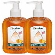 Himalaya PUREHANDS ORANGE Hand Sanitizer (250 ml Pack of 2)