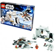 "Lego Star Wars Movie Series ""The Empire Strikes Back"" Battle Pack Set # 8089 - HOTH WAMPA CAVE with Snowspeeder"