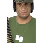 Placute de identificare DogTag Medalion Militar