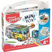 3D színező kreatív készségfejlesztő készlet, MAPED CREATIV, \Mini Box\