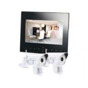 VisorTech Système de surveillance numérique Visortech DSC-720 - 2 caméras