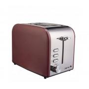 Prajitor de paine Arielli AET-1718BS 2 felii 800W Rosu