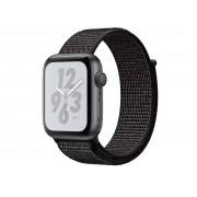 Nike Умные часы APPLE Watch Nike+ Series 4 40mm Space Grey Aluminium Case with Black Nike Sport Loop MU7G2RU/A