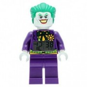 Ceas Lego Minifigurina Joker - The Batman Movie cu alarma si LED - 24 cm