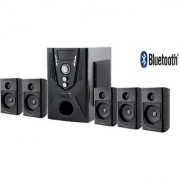 Flow Monster 5.1 Bluetooth Home Theater Speaker System 100W For Loud Music Lovers