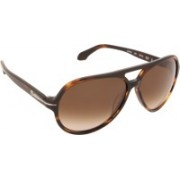 Calvin Klein Aviator Sunglasses(Brown)