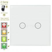 Сензорен ключ за осветление с дистанционно – 2 бутона (3 цвята)