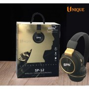 SPN SP-12 Wireless Bluetooth Headphones Over Ear Wireless Headphones With Mic