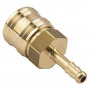 Szybkozłączka z nyplem na wąż 6mm typ 26 Rectus - Wtyk na wąż 6mm \ 1 sztuka