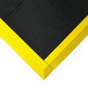 Olejivzdorná protiskluzová protiúnavová průmyslová modulární rohož Fatigue - 90 x 90 x 1,6 cm (80000496) FLOMAT